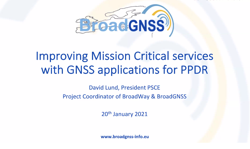 BroadGNSS Presented During PSCE Conference